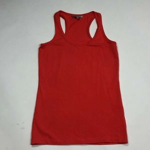 Clockhouse Tops - Clockhouse Womens Top Orange Tank Racer Back L